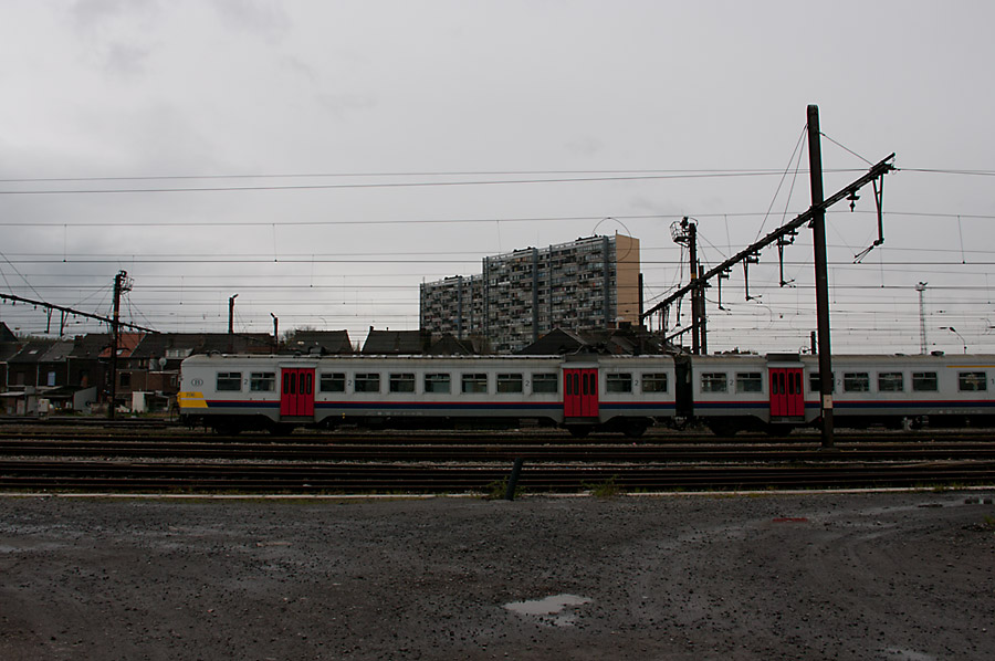 Train à Charleroi
