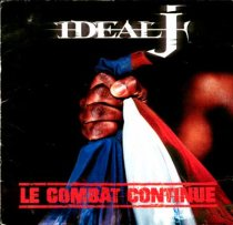 Pochette de l'album d'Ideal J Le combat continue