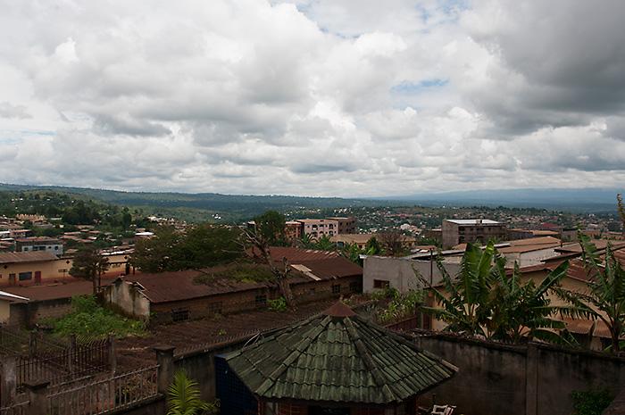 Vue de Bafoussam - photographie par ninachani